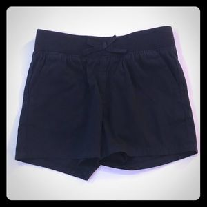 🎀 NWT Children's Place Black Shorts Girls 6X/7